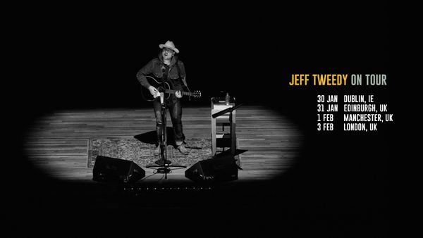 Jeff Tweedy & James Elkington, Vicar Street, Dublin, Jan 30th
